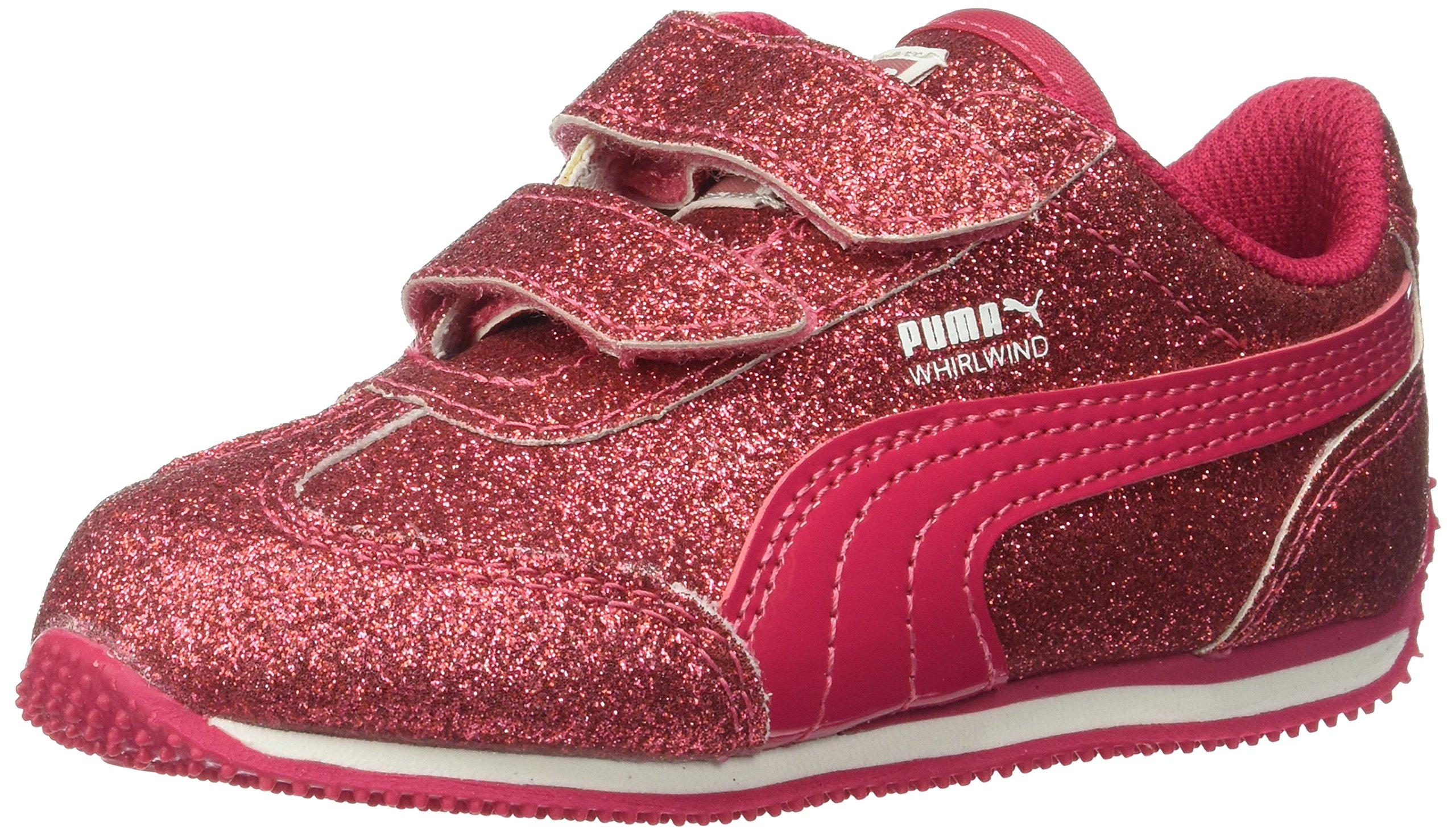 PUMA Kids' Whirlwind Glitz V Sneaker