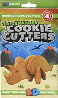 Dinosaur Cookie Cutters - Bake Your Own 3d Dinosaur (Triceratops)