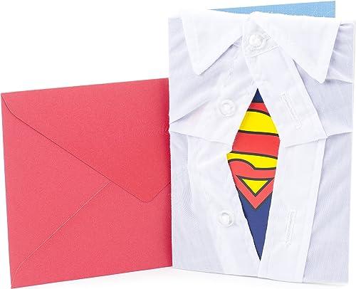 Hallmark Signature Birthday Card for Him (Superman Silhouette)