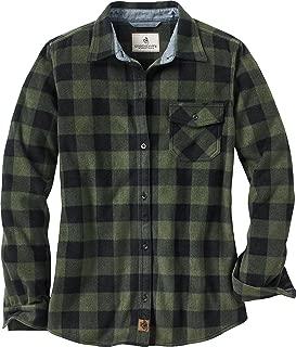 Legendary Whitetails Ladies Trail Guide Fleece Plaid Button Up Shirt