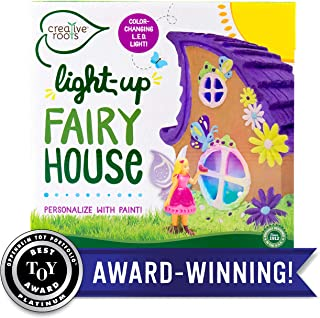Creative Roots Light Up Fairy House by Horizon Group USA