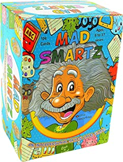 MAD SMARTZ: An Interpersonal Skills Card Game for Anger & Emotion Management, Empathy, and Social Skills; Top Educational ...
