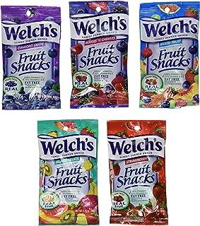 Welchs Fruit Snacks 24 / 2.25 Ounce Value Box Assortment
