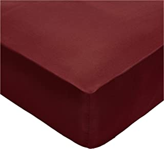 IBed home Fitted bedsheet 3pieces Set, Microfibre, King size, Maroon