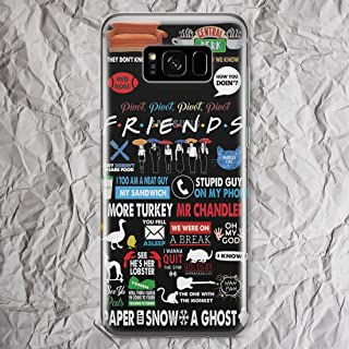 Friends TV Show for Samsung Galaxy S10 S9 S8 plus S10e S7 S6 Edge Plus Note 9 8 5 4 Galaxy S5 Cases Central Perk Coffee Mug Cup You My Lobster Merchandise Gifts Print Cell Phone Cover