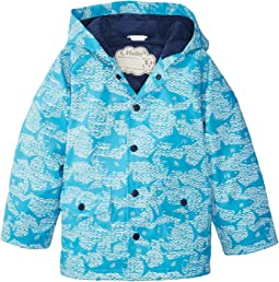 Hatley Kids - Shark Alley Classic Raincoat (Toddler/Little Kids/Big Kids)