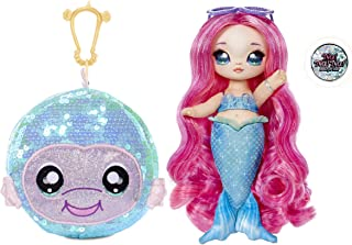 Na Na Na Surprise 2-in-1 Fashion Doll and Sparkly Sequined Purse Sparkle Series – Marina Jewels, 7.5