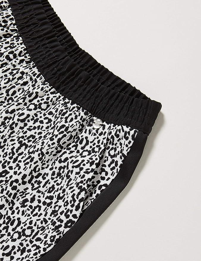IKKS Junior Pantalon Loose Blanc Cass/é Imprim/é Ni/ñas