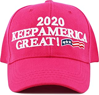 THE HAT DEPOT Exclusive Donald Trump Slogan Keep America Great Make America  Great Again 3D 8703677330c7
