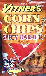Vitner's Corn Chips Spicy BAR-B-Q (4-4 oz Bags)