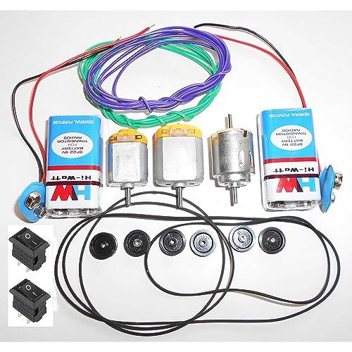 Electric Motor Project Kit: 9V DC Motor: Buy 9V DC Motor Online At Best Prices In