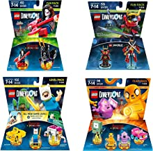 Adventure Time Finn The Human Level Pack + Jake The Dog Team Pack + Marceline Fun Pack+ Ninjago Nya Fun Pack - Lego Dimensions (Non Machine Specific)