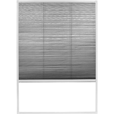 empasa Fliegengitter Insektenschutz Dachfenster Plissee Sonnenschutz MASTER DUO Alu Alurahmen Selbstbausatz