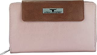 Urban Forest Tiffany Womens Leather Wallet