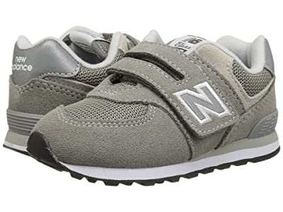 New Balance Kids KX574v1I (Infant/Toddler) (Grey/Grey) Boys Shoes