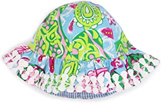 Mud Pie Baby-girls Newborn Lily Pad Sun Hat