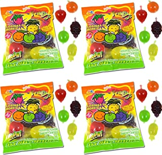 Din Don Fruity's JU-C Jelly Fruit Snacks Pack of 4