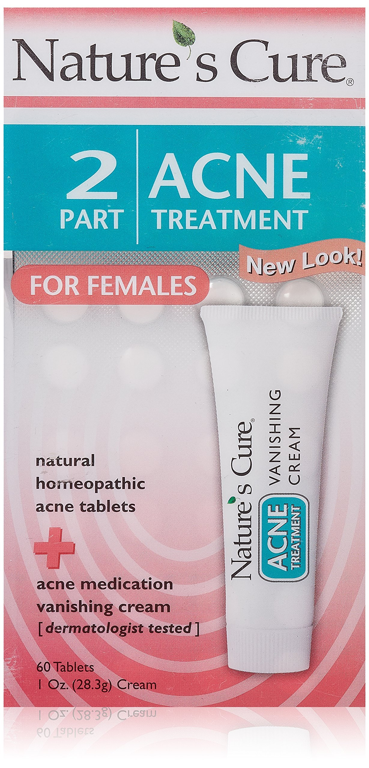 Natures Cure Two Part Treatment Tablets