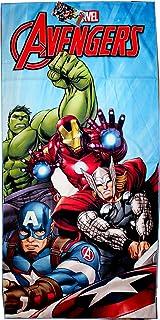 KidCo Serviette de Bain Officielle Avengers Endgame Infinity War 100/% Coton 70 x 140 cm