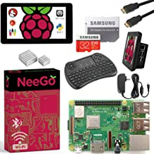 """Raspberry Pi 3 B+ (B Plus) Ultimate Kit – Complete Set Includes Raspberry pi Motherboard, 7"""" Touchscreen Display, Power Su..."""