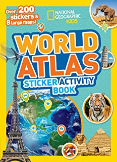 World Atlas Sticker Activity Book: Over 1,000 Stickers!