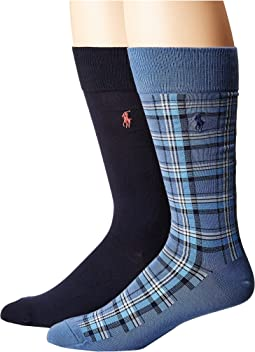 Polo Ralph Lauren - Plaid 2-Pack Socks