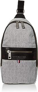 Tommy Hilfiger Women's Men's Leo Sling Backpack, GREY, OS