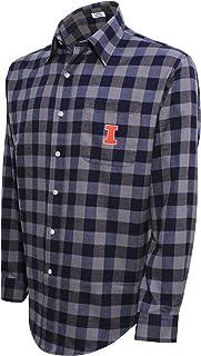 قميص رجالي بشعار فريق كامبس سبياليتيز LS من الفلانيل بفلو تشيك من الرابطة الوطنية لرياضة الجامعات