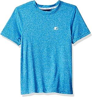 Boys' Short Sleeve TRAINING-TECH Running T-Shirt with Ventilation, Amazon Exclusive