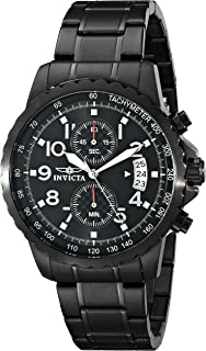 Men's 13787 Specialty Black Ion-Plated Stainless Steel Watch