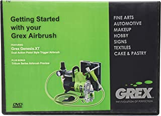 Grex Airbrush DVD-AB01 Getting Started with your Airbrush DVD