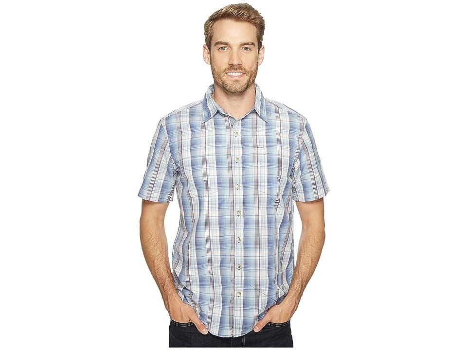 Ecoths Carrington Short Sleeve Shirt (Coastal Fjord) Men