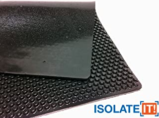 Sorbothane X-Tra Flex Acoustic Vibration Damping Sheet Stock (40 Duro, 3/16 x 12 x 14in)
