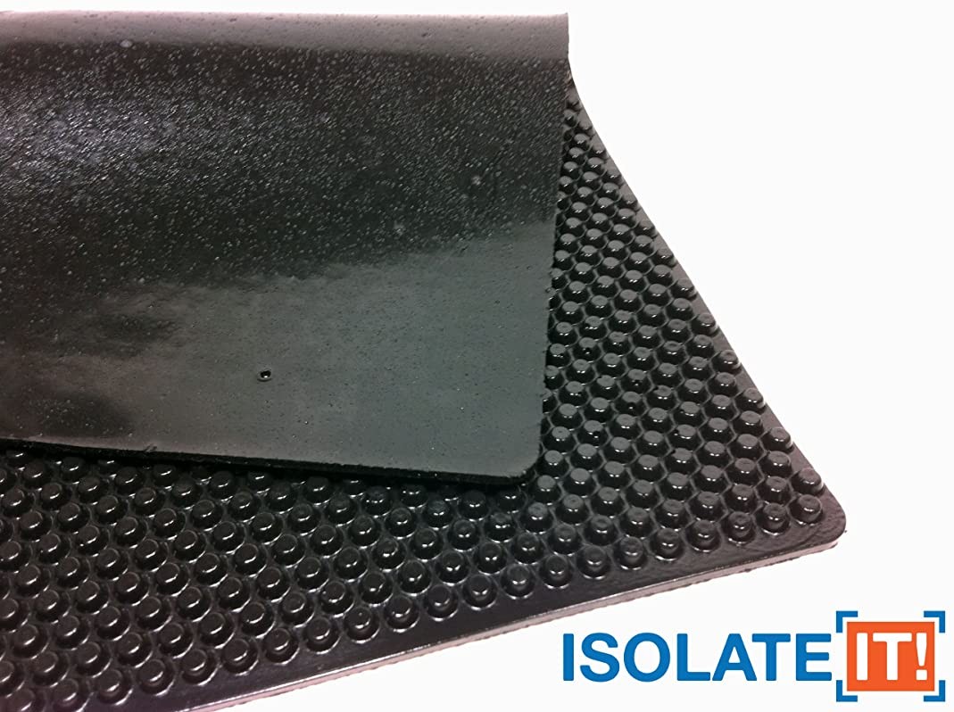 Sorbothane X-Tra Flex Acoustic Vibration Damping Sheet Stock (60 Duro, 3/16 x 12 x 14in)