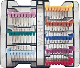 Wahl Professional Animal Stainless Steel Attachment Guide Comb Set for Wahl's Bravura, Arco, Chromado, Figura, and Motion Pet, Dog, Cat, and Horse Clippers (#3379)