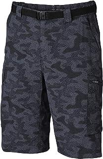 Columbia Men's Silver Ridge Printed Cargo Shorts, Moisture Wicking, Sun Protection Silver Ridge Printed Cargo Shorts, Mois...