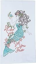 Kay Dee Designs A8556 Mermaid Embroidered Flour Sack Towel
