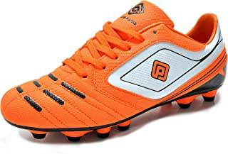 38e9fca4d DREAM PAIRS Men s Sport Flexible Athletic Free Running Light Weight Outdoor  Lace Up Soccer Shoes