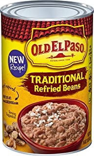 Old El Paso Traditional Refried Beans, 12 Cans, 16 oz