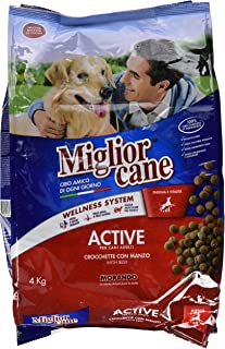 Miglor Croquettes With Beef Dog Dry Food, Multi-Colour, 4Kg