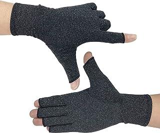 KIM YUAN Artritis Handschoenen 1 Paar, Compressie Handschoenen Ondersteuning en Warmte voor Handen, Vinger Joint, Verlicht Pijn van Reumatoïde Artritis, Artrose, Carpale Tunnel, Tendonitis