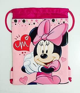 Disney Minnie Mouse Drawstring Backpack - Pink Drawstring Bag