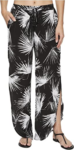 Petal Pusher Tulip Pants Cover-Up