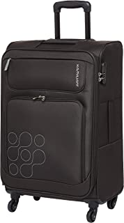 Kamiliant by American Tourister Himba Softside Spinner Luggage 64cm with 3 digit Number Lock - Brown