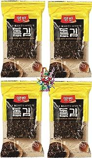 yoaxia ® - 4er Pack -  4x 28g  DONGWON Seetang, geröstet,