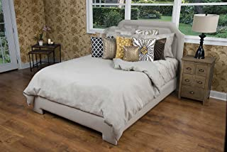 Rizzy Home Covington Stone Linen Bedding Duvet Cover (Unfilled), Queen
