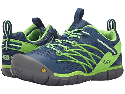 Keen Kids Chandler CNX (Little Kid/Big Kid) (Poseidon/Jasmine Green) Boys Shoes