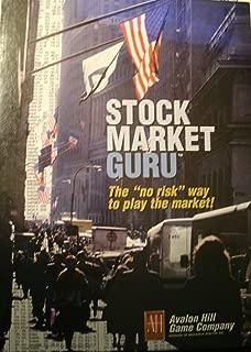 Avalon Hill Vintage Stock Market Guru Game - The
