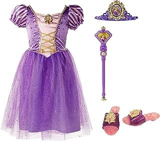 Disney Princess 94899 Rapunzel Tiara to Toes Dress Up Set Costume