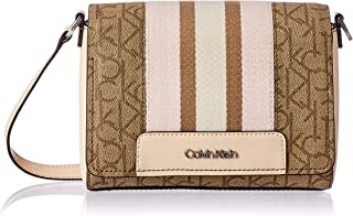 Calvin Klein Clara Signature Monogram Key Item Demi Shoulder Bag